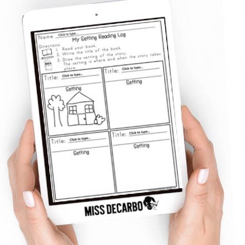 Digital Reading Logs for students and teachers!