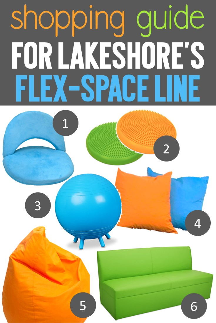 Lakeshore Learning Flex-Space furniture shopping guide for flexible seating