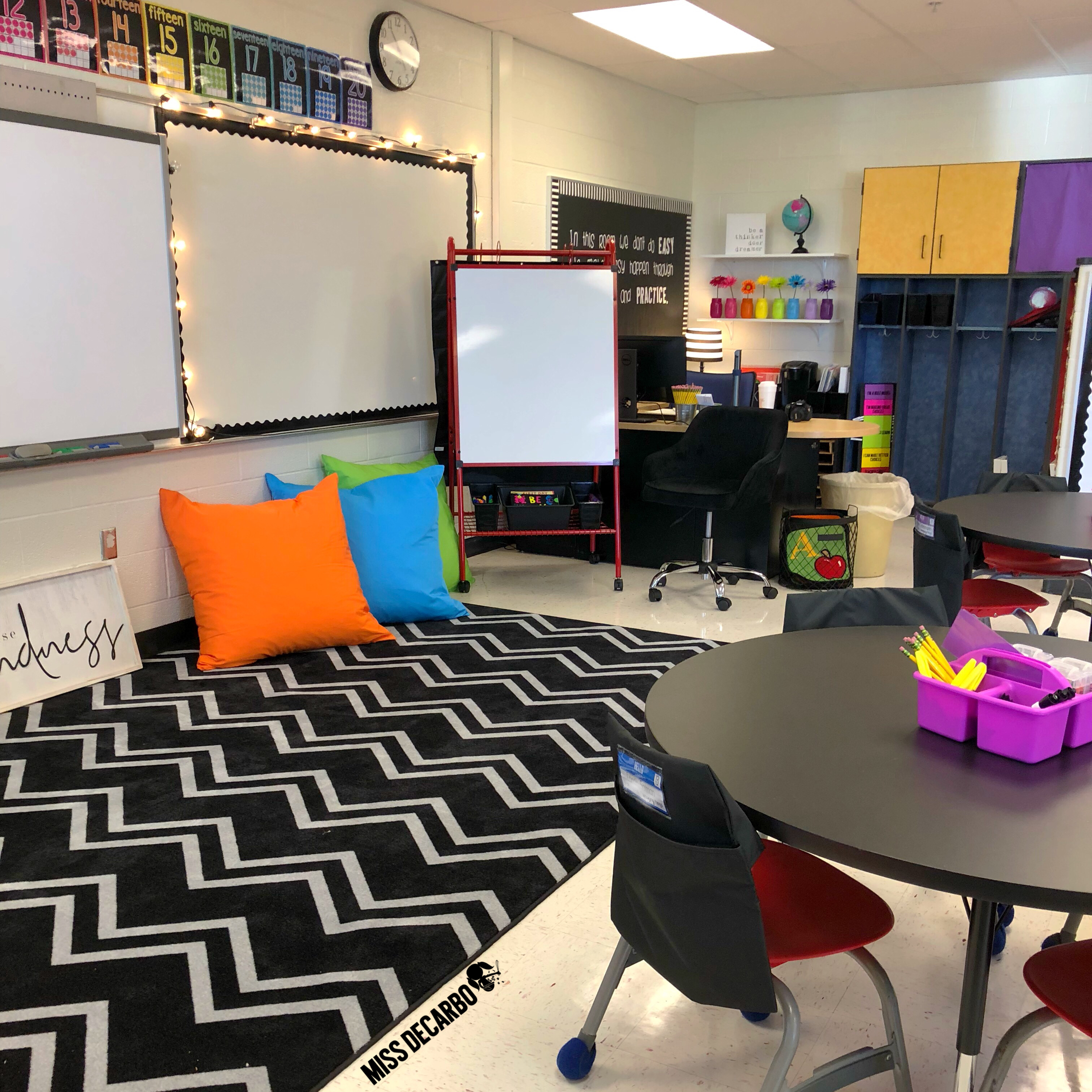 giant comfy floor pillows for flexible seating from Lakeshore Learning