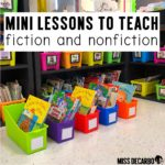 Fiction and Nonfiction Mini Lessons