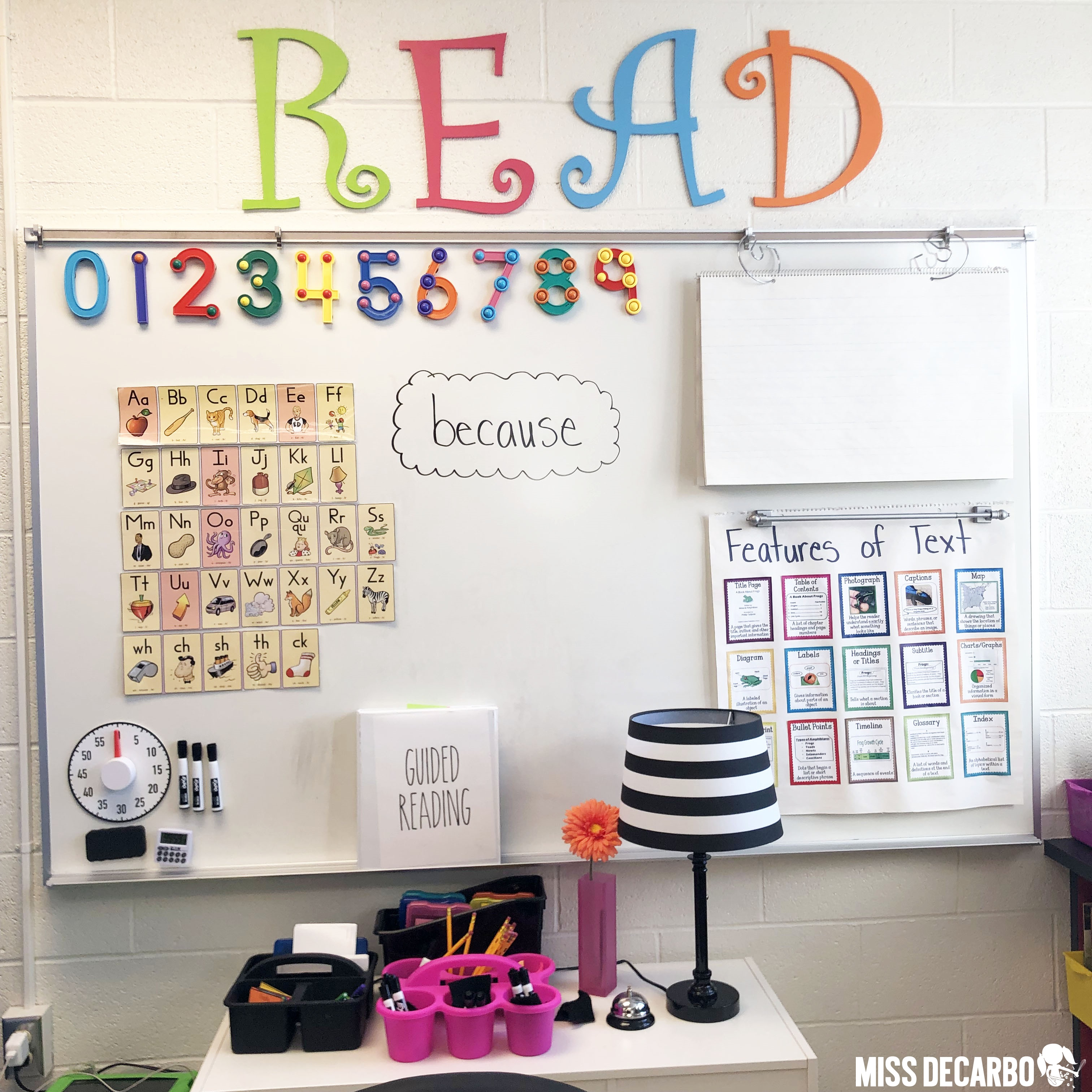 Learn 6 teacher hacks for classroom organization!