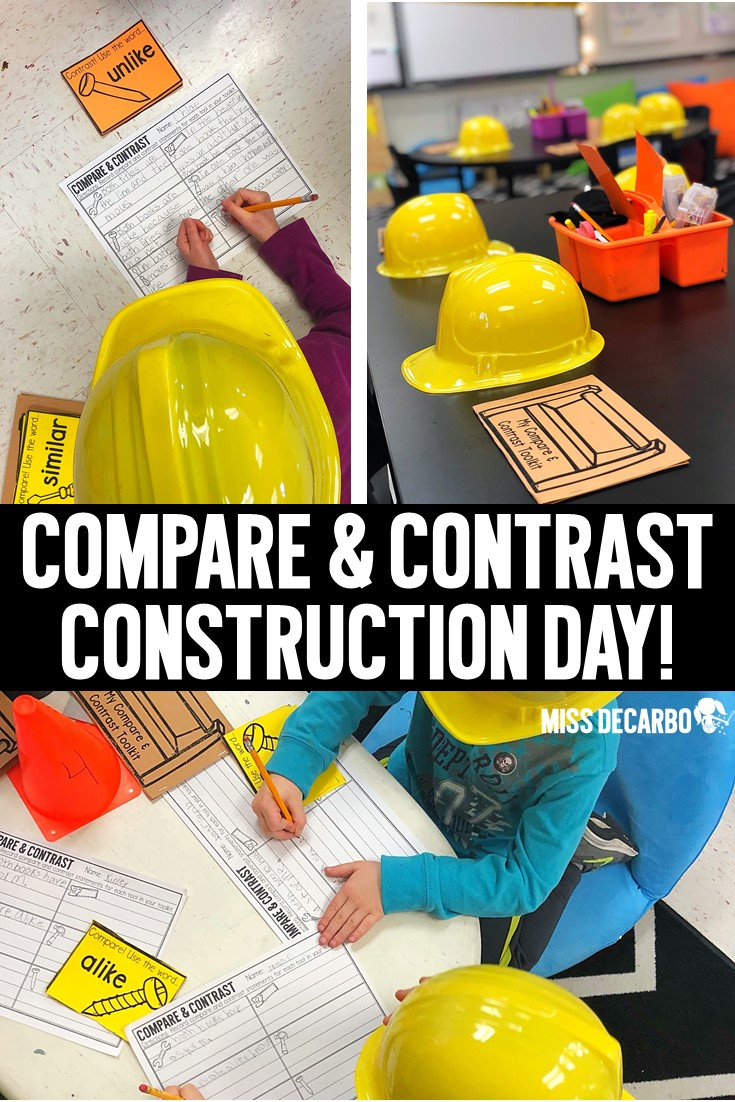 Compare and Contrast Construction Day