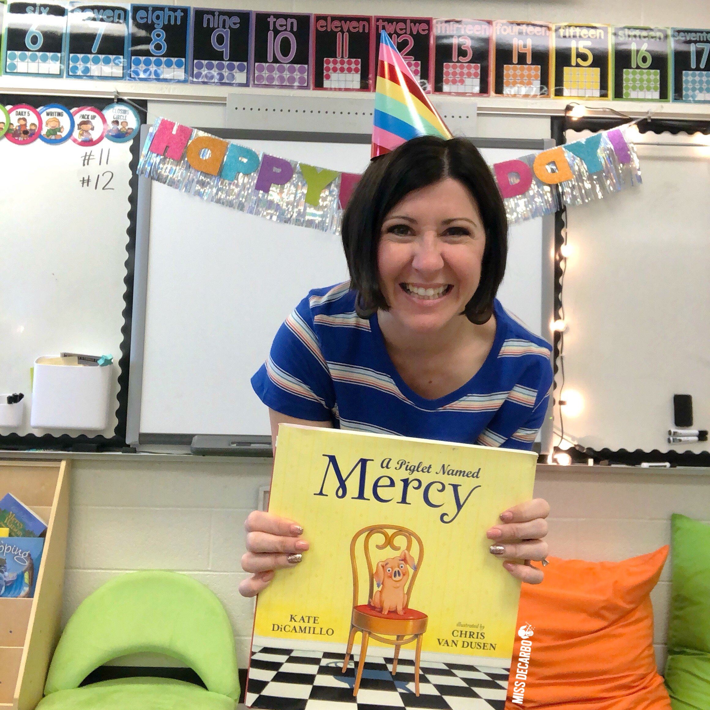 Mercy Watson birthday party activities for the classroom!
