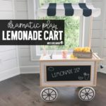 Dramatic Play Center Lemonade Cart