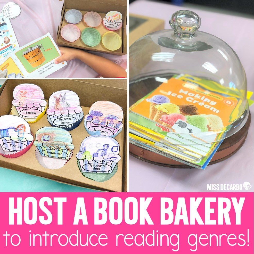 Host a Book Bakery to Teach Reading Genres!