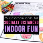 Indoor Recess Ideas for Social Distancing