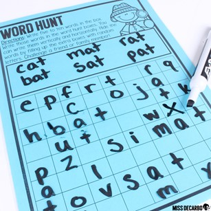 12 Indoor Recess Games for Social Distancing. Word Hunt is a game that can be played independently and placed in your students' indoor recess binders.