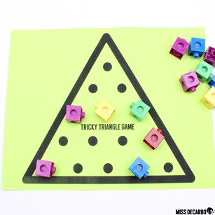 12 Indoor Recess Games for Social Distancing. The Triangle Game is an independent game that can be played independently and placed in your students' indoor recess binders.