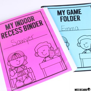 12 reusable games for indoor recess are included in my Indoor Recess Games for Social Distancing pack.