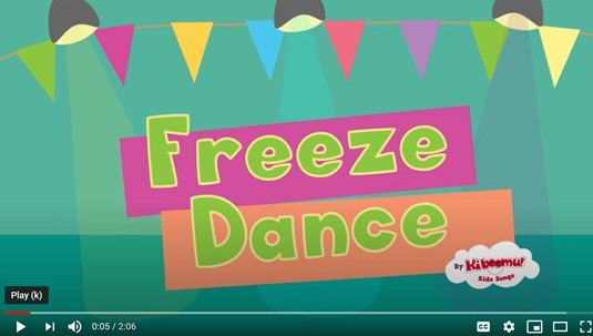 This Freeze Dance YouTube video for the classroom is perfect for indoor recess.