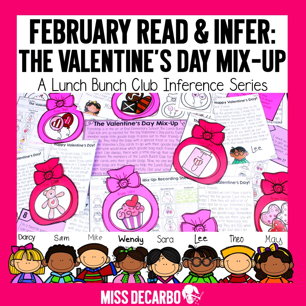 Valentine's Day Mix-Up Reading Activity
