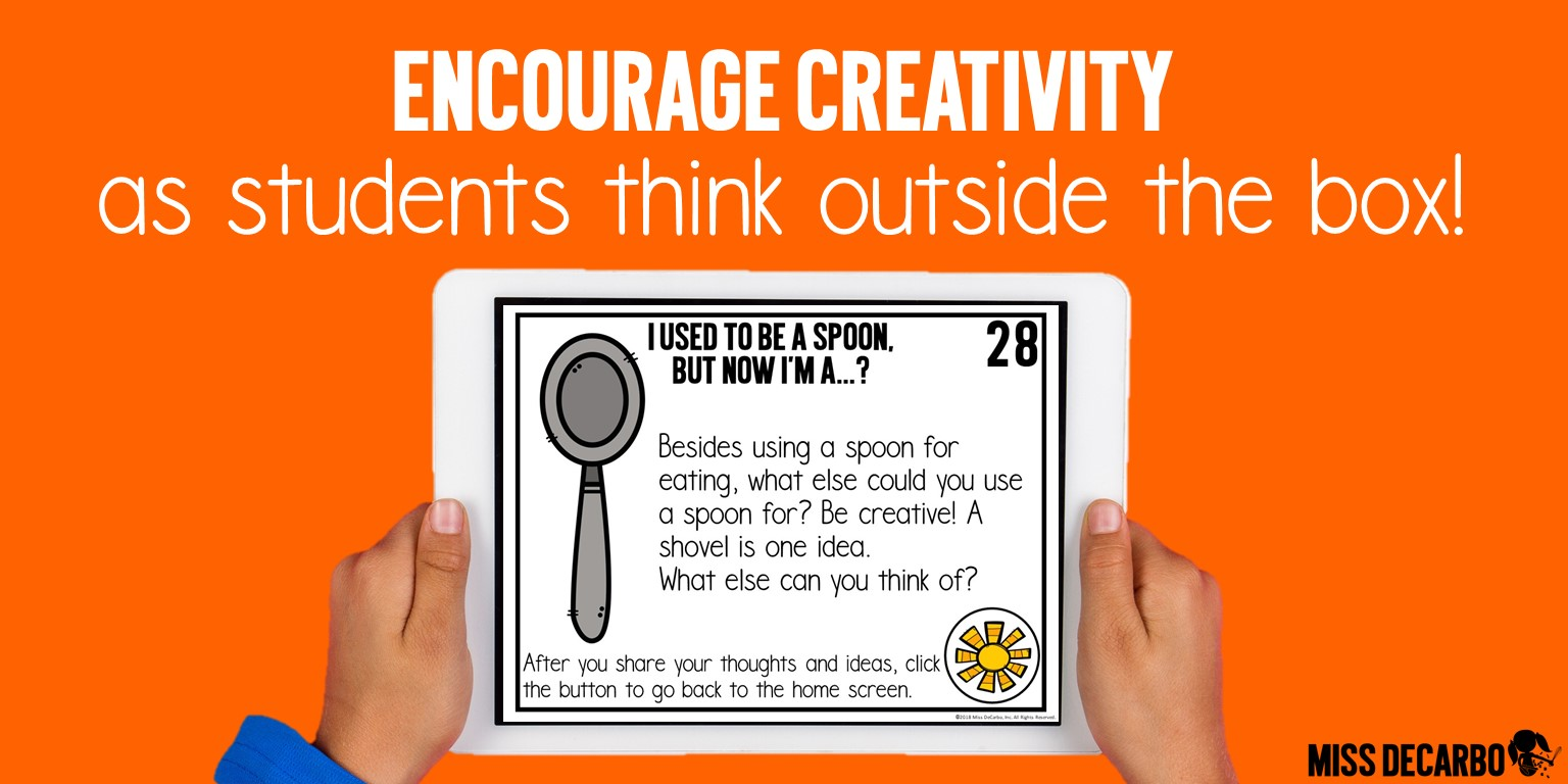 Encourage students to think outside the box and be creative with these daily digital brain-building challenges and critical thinking exercises!