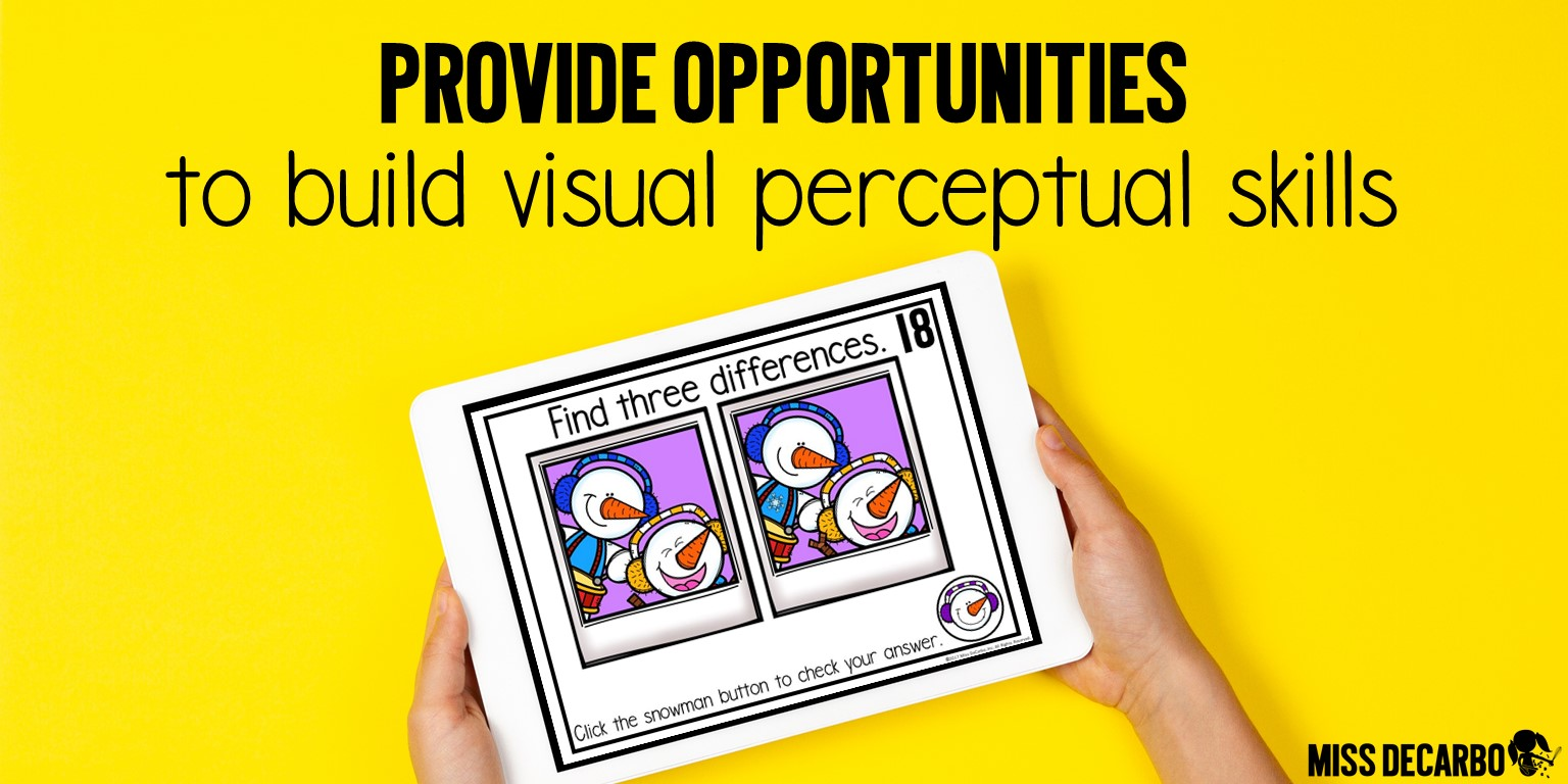 Develop visual perceptual skills with fun and daily, digital brain-building challenges and critical thinking exercises!