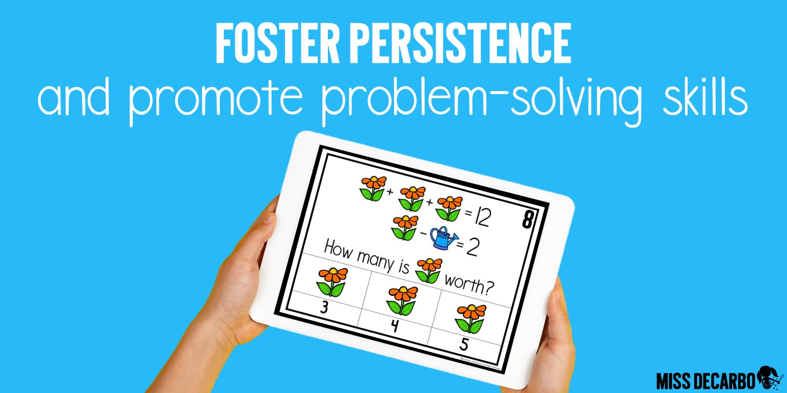 Foster persistence with these daily digital brain-building challenges and critical thinking exercises!