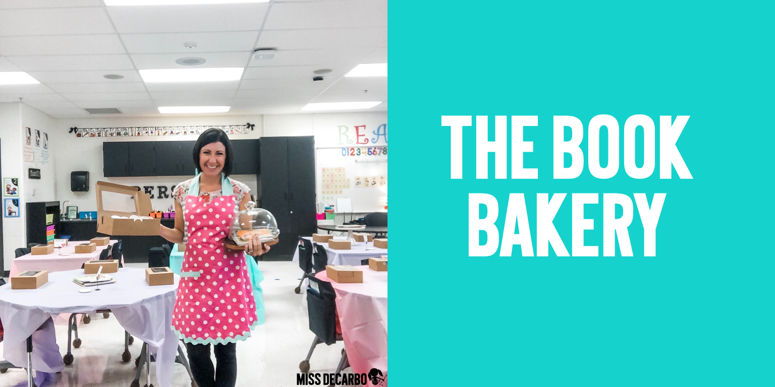 Book Bakery Day helps your students discover new genres and types of books that they love!