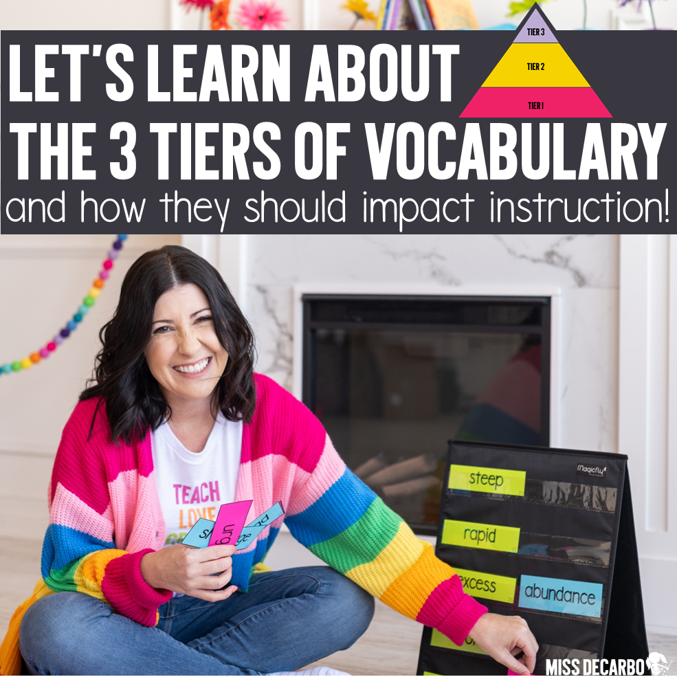 The Three Tiers of Vocabulary for Classroom Instruction