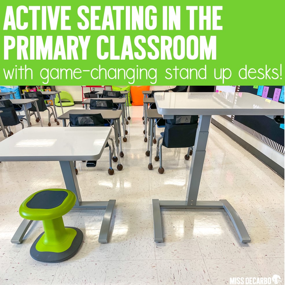 Stand Up Desks for the Primary Classroom